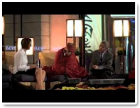 Barbara Fredrickson and His Holiness the Dalai Lama
